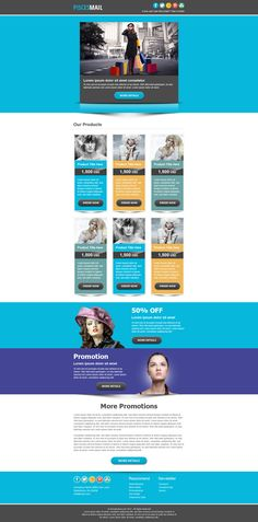 The perfect basic email template design - Emma Email Marketing ...
