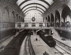 Railway station which has become Musee d'Orsay
