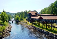 Nes Jernverk, in southern Norway. Land Of Midnight Sun, Scandinavian Countries, Finland, Denmark, Norway, To Go, Southern, Photos, Traveling