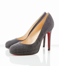 Christian Louboutin New Simple Pump 120mm Dark Grey -$155