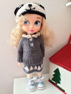 Winter Clothes / Disney Animator Doll
