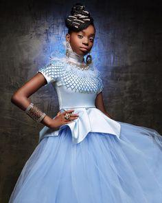"""Stunning African-American Princess Photo Series Celebrates """"Diversity In Fantasy"""" Blue Eyed Girls, Black Girls, Pocahontas, Black Disney Princess, Princess Belle, Tangled Princess, Cinderella Princess, Flame Princess, Cinderella Disney"""