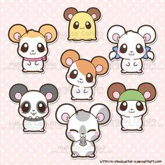 Hamtaro! My childhood :D