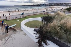 North Bondi Amenities by Sam Crawford Architects with Lymesmith.