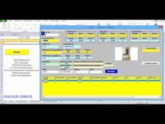 Lagerverwaltungsprogramm in Excel mit Artikel-Bildern und integrierter Lieferanten- Kundendatenbank. - YouTube