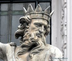 Durham - Statue of Neptune Market Place Detail   Flickr - Photo Sharing!
