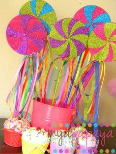 candyland classroom decor | Candyland Lollipop Wands