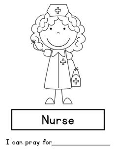 Community Helpers Coloring Page From Bonnie Kathryn Kinders