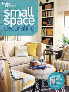 Bestseller Books Online Small Space Decorating (Better Homes & Gardens Decorating) Better Homes & Gardens $14.95  - http://www.ebooknetworking.net/books_detail-0470887109.html