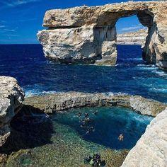 Azure Window, Malta