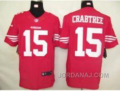 http://www.jordanaj.com/nike-nfl-san-francisco-49ers-15-crabtree-red-elite-jerseys.html NIKE NFL SAN FRANCISCO 49ERS #15 CRABTREE RED ELITE JERSEYS Only $23.00 , Free Shipping!