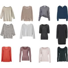 My capsule sweaters Capsule Wardrobe, Shoe Bag, Sweaters, Stuff To Buy, Shopping, Collection, Design, Women, Fashion