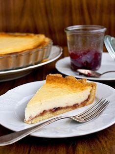 Obrázek z Recept - Lehký tvarohový koláč s marmeládou Gimme Some Sugar, Food Test, Thing 1, Baked Goods, Sweet Tooth, Pancakes, Cheesecake, Pie, Sweets