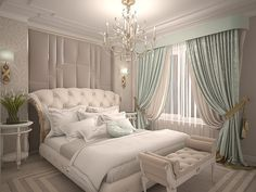 Every detail matters when we are decorating our master bedroom, right? Simple Bedroom Design, Luxury Bedroom Design, Bedroom Bed Design, Home Room Design, Home Design Decor, Home Interior Design, Living Room Designs, Gold Bedroom Decor, Luxury Bedroom Furniture