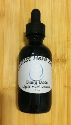 Daily Dose Liquid MultiVitamin Tincture A Whole Food! by LittlestHerbShop