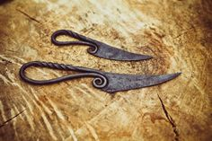 Hand Forged Viking Style Knife/Letter Opener by ColdIronForge