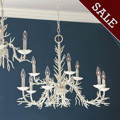 9-Light Coral Chandelier  [illuminate] I ballarddesigns.com