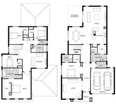 Australia's largest builder of steel frame homes and the new home construction builder of Victoria. Two Story Homes, House Exteriors, House Floor Plans, Scotland, Diva, House Ideas, Gardens, Ceiling, Houses