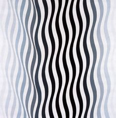 Bridget Riley...first lady of optical illustions...in the 70's when they were handpainted.