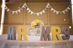 DIY Rustic Yellow + Gray Barn Wedding {ByCherry Photography} 15