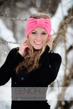 www.jeremyandvickie.com  Fashion Senior snow session