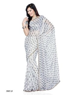 Casual Wear Georgette With Golden Foil Saree