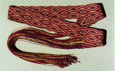 Double hishi (diamond) Karakumi braid