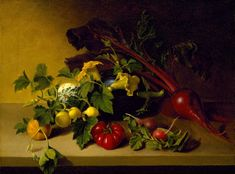 Rembrandt Peale Still Life