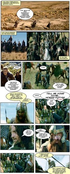 Lord of the Rings with a Dungeons & Dragons twist
