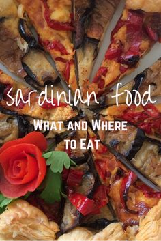 Sardinian food - want to know what and where to eat in Sardinia? A list of local foods and recommended restaurants for a trip to Sardinia.