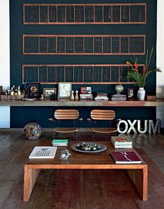 Etxekodeco: Shabby Chic tropical: Una casa cerca de la playa en Brasil | Living room