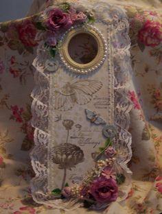 Shabby Chic**Altered Door Hanger - Scrapbook.com