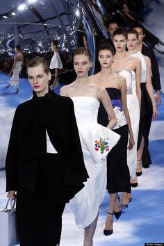 Christian Dior fall 2013 Paris fashion week