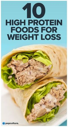 10 high protein foods for weight loss. Make sure to get these 10 protein-packed foods into your diet—they can help you shed weight faster and easier. Protein-Packed Foods for Weight Loss High Protein Low Carb, High Protein Recipes, Low Carb Diet, Protein Packed Foods, Protein Lunch, Healthy High Protein Meals, Foods High In Protein, No Carb Foods, Protien Diet