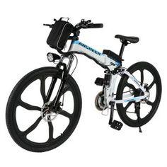 Ancheer Folding Electric Mountain Bike Bikes Uk Moped