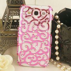 Fancy - Bling Pink Relief Samsung Galaxy S3 i9300 Case | ShopLocket