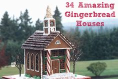 Our all-time favorite gingerbread houses! #Christmas