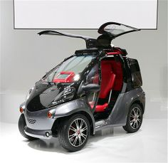 """Anyone else bugging out over the Toyota Smart INSECT Concept Car The name is an acronym for """"information network social electric city transporter."""""""