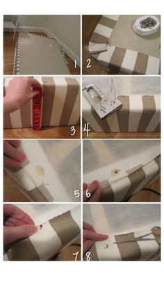 make box spring mattress look more attractive w/o bed skirt