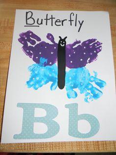 Homemade Memories: Alphabet Book - B is for Butterfly