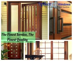 spiker's Upvc windows and doors are manufactured from the finest of raw materials procured from renowned vendors and have special features attached that make them unique.