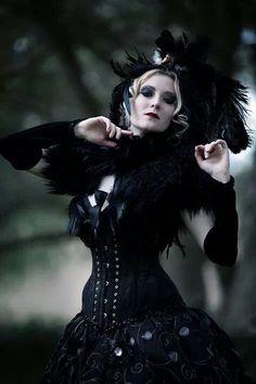 "dmonikhel: ""Gothic Beauty Magazine """