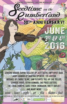 On June 3-4th, Seedtime on the Cumberland continues its annual tradition of bringing musical entertainment in the mountains of southeastern Kentucky.  Hosted by Appalshop, the event is free and open to the public at the Appalashop headquarters in Whitesburg, Kentucky. #kytourism #appalachia #bluegrass