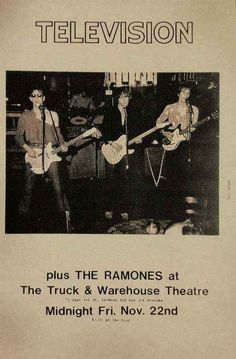 Television and The Ramones