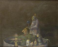 Iron Boiler - Stefan Caltia Magic Realism, Famous Words, Art Database, Boiler, Fantastic Art, Iron, Artist, Artwork, Image