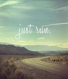 """I love to run because it truly is """"me"""" time."""