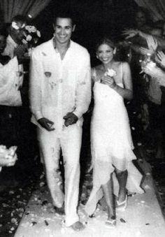 Freddie and Sarah Michelle.