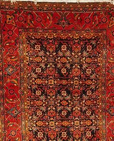 Sarogh,Persien ca 212 x 160 cm. Flor Wolle.