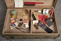 These would be great to use when reading the book ASYLUM by Madeleine Roux. Pictures of suitcases left behind by people who were committed in Willard Asylum for the Insane in Upstate New York.