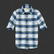 Abercrombie  Mens Boundary Peak Shirt